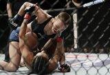 UFC medikų išvados: J.Jedrzejczyk suspenduota mėnesiui, R.Namajunas narve praktiškai nenukentėjo