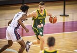 22 klaidas padarę Lietuvos devyniolikmečiai neatsilaikė prieš JAV ir kovos dėl pasaulio čempionato bronzos