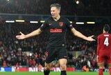 """""""Atletico"""" žvaigždė M.Llorente patrolino """"Liverpool"""": šunį pavadino """"Anfield"""" vardu"""