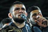 """C.Nurmagomedovas """"patrolino"""" UFC prezidentą"""