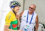 Belgijoje – sėkmingas dviratininkės R.Leleivytės pasirodymas