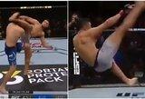 Įspūdinga: UFC turnyre – nokautas per 15 sekundžių