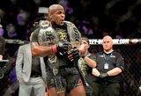 D.Cormier atsisakė UFC čempiono diržo ir paaiškino savo sprendimą