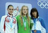 R.Meilutytė triumfavo plaukimo varžybose Anglijoje