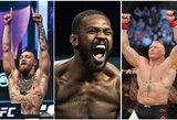 """D.White'o prognozės: """"C.McGregoras, J.Jonesas, GSP ir B.Lesnaras šiemet kovos UFC"""""""