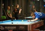 P.Labutis Euroturo turnyre aplenkė daugiau nei 160 varžovų
