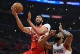 """""""Pelicans"""" po dviejų metų pertraukos sugrįžta į atkrintamąsias"""