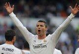 """Nesustabdomai žaidęs C.Ronaldo vedė į pergalę """"Real"""""""