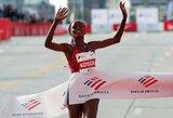 Įspūdinga: B.Kosgei pagerino 16 metų gyvavusį pasaulio maratono bėgimo rekordą!