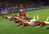 Velsas sensacingai nugalėjo Belgiją ir žais EURO 2016 pusfinalyje