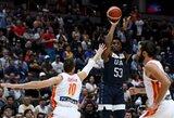 """D.Mitchellas: """"Kitų rinktinių krepšininkai kartu žaidžia nuo 12 metų, mums trūksta susižaidimo"""""""