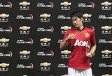 """Interviu su """"Man United"""" saugu S.Kagawa"""