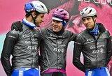 """Dviratininkas I.Konovalovas kopė ant """"Giro d'Italia"""" prizininkų pakylos"""