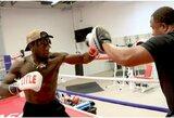 """N.Robinsonas: """"Noriu ringe atrodyti kaip tikras boksininkas, o ne kaip kvailiojantis krepšininkas"""""""