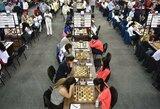 Lietuvos moterų šachmatų rinktinė olimpiadoje sutriuškino Meksiką, vyrai įveikė Turkmėnistaną