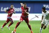 N.Valskis Indijoje gavo geltoną kortelę, A.Novikovo klubas iškrito iš Turkijos taurės
