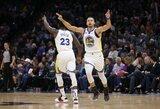 "Rekordais nusėtame mače – dramatiška ""Warriors"" komandos pergalė"