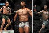 """C.McGregoras, I.Adesanya, J.Jonesas ar J.Masvidalis: kas išgelbės """"UFC 256"""" turnyrą?"""