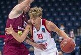"""M.Kuzminskas """"Top 16"""" starte pelnė 16 taškų"""