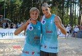 Latvijoje – Lietuvos paplūdimio tinklininkų triumfas