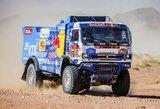 Dakaro čempiono agonija: finišas 6 val. ryte, startas nemiegojus kitame etape ir lemtingas gedimas