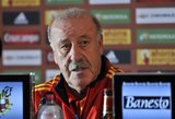 """V.Del Bosque: """"Raulis yra potencialus kandidatas prisijungti prie rinktinės"""""""