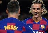 """Juokingiau nebūna: per anksti derybas su A.Griezmannu pradėjusi ir 80 mln. mažiau už jį sumokėjusi """"Barca"""" gavo vos 300 eurų baudą"""