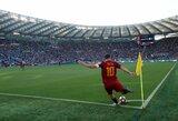 """F.Totti karjerą """"Roma"""" klube pergalingai užbaigė pilnutėliame stadione"""