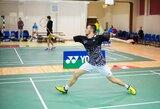 """Lietuvos badmintono rinktinė pradėjo prestižinį """"Sudirman Cup"""" turnyrą, 19-metis lietuvis pateikė sensaciją"""