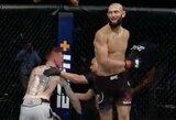 Istorinis pasirodymas: Ch.Čimajevas UFC organizacijoje iškovojo antrą pergalę per 10 dienų