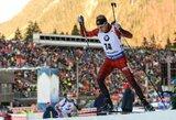 Lietuvos biatlono rinktinė atsilaikė iki finišo, vėl žibėjo broliai Boe
