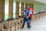 Pasaulio šaudymo čempionate startavo dar trys lietuviai