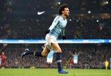 """Gyvybiškai svarbią pergalę išplėšę """"Manchester City"""" privertė """"Liverpool"""" pirmą kartą šiame sezone pralaimėti"""