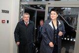 Tarptautinio olimpinio komiteto prezidentas T.Bachas atvyko į Lietuvą