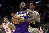 """""""Lakers"""" nutraukė ilgiausią sezono nesėkmių seriją"""