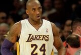"""K.Bryantas prametė penkis tritaškius, o """"Lakers"""" pralaimėjo Atlantoje"""