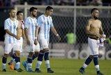 Argentina neįveikė Paragvajaus, Brazilija iškovojo pirmą pergalę, A.Sanchezas buvo atsparus Peru šamanų kerams