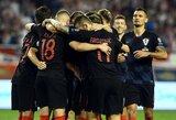 EURO2020 atranka: Kroatija užtikrintai nugalėjo dešimtyje rungtyniauti likusius vengrus