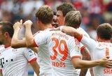 """Vokietijoje – """"Bayern"""" iškovojo sunkią pergalę, """"Wolfsburg"""" sutriuškino """"Schalke"""" (+ kiti rezultatai)"""