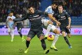 """Italijos autsaiderių kautynėse dėl svarbių taškų – """"Sampdoria"""" triumfas"""