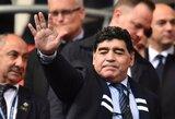 """D.Maradona: """"Meksika nenusipelnė rengti pasaulio čempionatą, o kanadiečiai – tiesiog gerai slidinėja"""""""