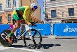 Europos čempionate R.Navardauskas ir E.Šiškevičius –greta vienas kito