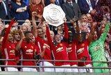 """Z.Ibrahimovičius iškovojo """"Manchester United"""" klubui pirmą sezono trofėjų"""