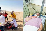 Dakaras baigėsi nė neprasidėjęs: M.Kolomy skilo du stuburo slanksteliai