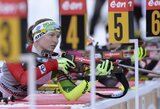 Pasaulio biatlono taurės etape Vokietijoje N.Kočergina 63-a, D.Rasimovičiūtė tarp autsaiderių