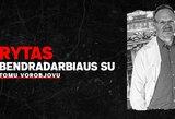 """Gydytojas T.Vorobjovas grįžta į Vilniaus """"Rytą"""""""