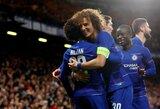 """Europos lygos aštuntfinalis: """"Chelsea"""" lengvai įveikė ukrainiečius"""