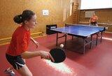 Lietuvos stalo tenisininkės Čekijoje nepateko į ketvirtfinalį