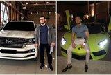 C.McGregoras prieš C.Nurmagomedovą: kurio kovotojo automobilių kolekcija įspūdingesnė?