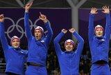Olimpinėje medalių įskaitoje norvegai vėl padidino savo pranašumą prieš vokiečius